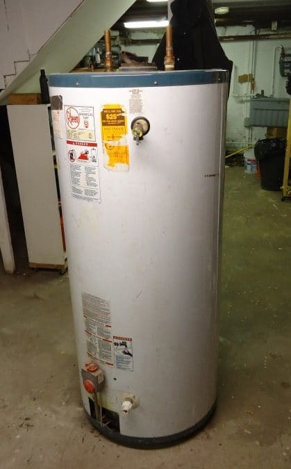 Water Damaged Caused by Water Heater